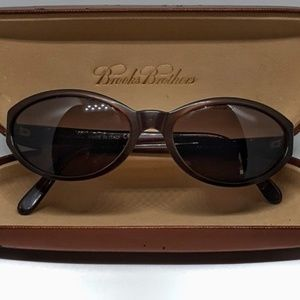 Brooks Brothers Made in Italy Polarized Sunglasses